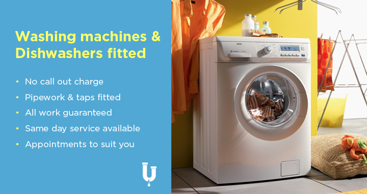 Washing machines & dishwashers fitted in Bristol